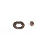 ECX Ring & Pinion, Set: 1/10 4WD All