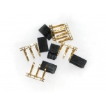 Futaba Plug Set (Gold Pins) 5pcs