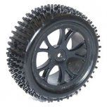 FTX VANTAGE Front Buggy Tire Mounted on Black Wheels (Pair)
