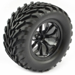 FTX BUGSTA Mounted wheel/tyre, pair - Black