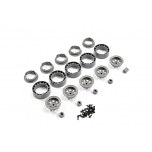 FTX Outback Mini 2.0 Bead lock wheel set (5pcs)