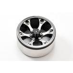 Fastrax 1.9'' Heavy Duty 6-spoke alloy beadlock wheels 100g each (2pcs)