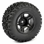 FASTRAX 1:10 SC Stinger, mounted on 5-spoke black wheel (2)