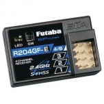 Futaba R204GF-E 4-Channel S-FHSS Micro Receiver w/ Internal Antenna