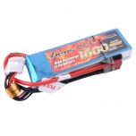 Gens Ace 1600mAh 11.1V 40C 3S1P Lipo Battery Pack, T-plug