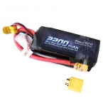 Gens ace 2200mAh 7.4V 50C 2S1P Lipo Battery with XT60 Connector