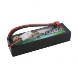 Gens ace Bashing Series 5500mAh 7.4V 2S1P 25C/50C Hard Case LiPo battery, T-plug