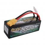 Gens ace bashing series 5500mAh 14.8V 25C/50C 4S1P HardCase, XT90 plug