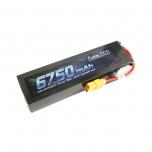 Gens ace 6750mAh 14.8V 50C 4S1P Lipo Battery Pack with XT90
