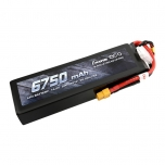 Gens ace 6750mAh 14.8V 50C 4S1P Lipo Battery Pack with XT60
