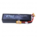 Gens ace 6750mAh 14.8V 50C 4S1P Lipo Battery Pack with XT90