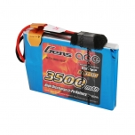 Gens ace 3500mAh 3.7V TX 1S1P Lipo Battery Pack with JR Plug for Sanwa MT-44