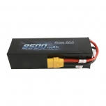 Gens ace 8500mAh 14.8V 50C 4S1P Lipo Battery Pack PC case with XT90 plug