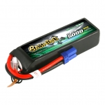 Gens ace 5000mAh 14.8V 4S1P 30/60C Lipo Battery Pack with EC5 Plug-Bashing Series