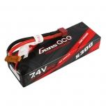 Gens ace 5300mAh 7.4V 2S1P 30/60C car Lipo Battery Pack Hardcase with T Plug