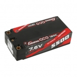 Gens ace 5500mAh 7.6V High Voltage 120C 2S2P Shorty Lipo