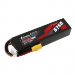 Gens ace 6750mAh 14.8V 60C 4S1P Lipo Battery Pack PC material case with XT90 plug