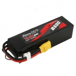 Gens ace 8500mAh 14.8V 60C 4S1P Lipo Battery Pack PC Material Case with XT90 plug