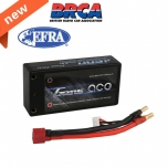 Gens ace 4600mAh 7.4V 60C 2S2P hardcase Shorty Lipo Battery