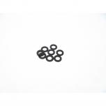 Hiro Seiko 3mm Alloy Spacer Set (thickness 0.5 mm), Black (8 pcs)