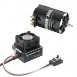 Hobbywing Stock Combo XR10 JS5 Black G2, Justock 3650SD 17.5T BLACK G2 2200KV