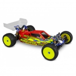 Jconcepts F2 - B6 | B6D | B6.1 body w/ Aero wing - Light-weight, clear