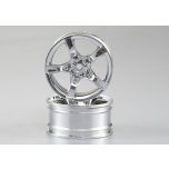 Killerbody Drift rim set, 5-spoke chromed (4)