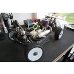 TLR 8IGHT 3.0 1/8 Nitro bagi Kit + servod+ mootor (kasutatud