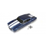 Kyosho Fazer Chevelle 1/10 Body shell set (Fathom Blue)