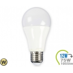 LED Bulb - 12W E27 A60 Thermoplastic Warm White