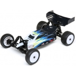 Losi Mini-B, Brushed, RTR: 1/16 2WD Buggy, black/white