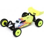 Losi Mini-B, Brushed, RTR: 1/16 2WD Buggy, yellow