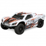 Losi TENACITY SCT 4WD RTR with AVC White/Orange