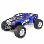 Losi 1/10 TENACITY 4WD Monster Truck Brushless RTR with AVC, Blue
