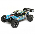 Losi 1/10 TENACITY-DB 4WD Desert Buggy RTR with AVC, Blue/Yellow