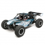Losi 1/5 Desert Buggy XL-E 4WD Brushless RTR with AVC, Black/Gray