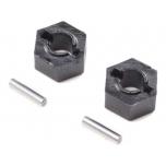 Losi Wheel Hex Pin (2): Mini-T 2.0 / B