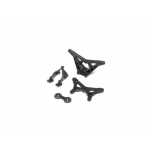 Losi FR/RR Shock Tower, Wing Stay: Mini-B