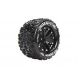 Louise MT-Spider, Soft, 2.8' black spoke rims, 14mm Hex (2 pcs)