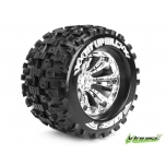 Louise MT UPHILL 3.8' 1/8 Sport 17mm, Chrome wheels, TRAXXAS, HPI, 1/2 Offset (2)