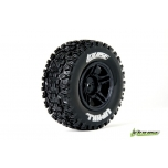 Louise SC-UPHILL Soft / Black Rim (For Slash Rear, Slash 4x4 F/R, SCRT10 F/R & Blitz F/R) / Mounted (2)