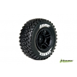 Louise SC-HUMMER Soft / Black Rim (For Slash Rear, Slash 4x4 F/R, SCRT10 F/R & Blitz F/R) / Mounted (2)