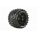 "Louise MFT MT-Uphill 1/8 monster truck rehv, 3.8"" 1/2 offset, 17mm hex veljel (2 tk)"