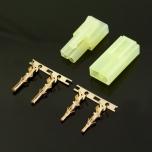 MSP Mini Tamiya pistik (kullatud klemmid) (memane+isane paar) (1)