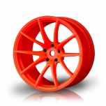 MST Drift wheels G25 Orange (+5mm Offset) (4 pcs)