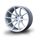 MST Drift wheels G25 White (+8mm Offset) (4 pcs)