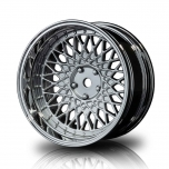 MST Drift wheels BBS BMW matt silver, changable offset (4pcs)
