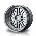 MST Drift wheels, matt-silver FS-FS LM changable offset (4)