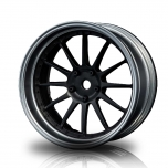 MST Drift wheels, matt-silver/matt black inner, FS-FBK 21 changable offset (4)