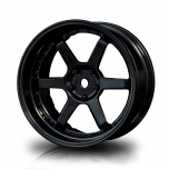 MST Drift BK-BK 106 wheels, black, changable offset (4pcs)